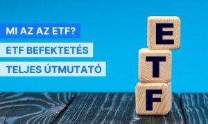 ETF jelentése és befektetés elkezdése