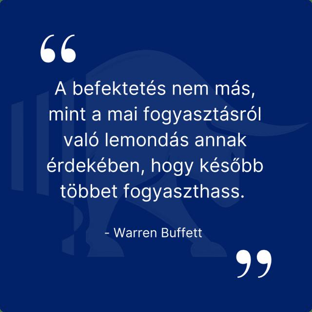 Warren Buffet idézet