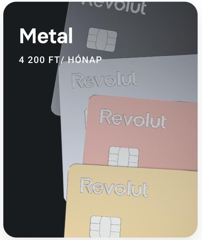 revolut metal csomag