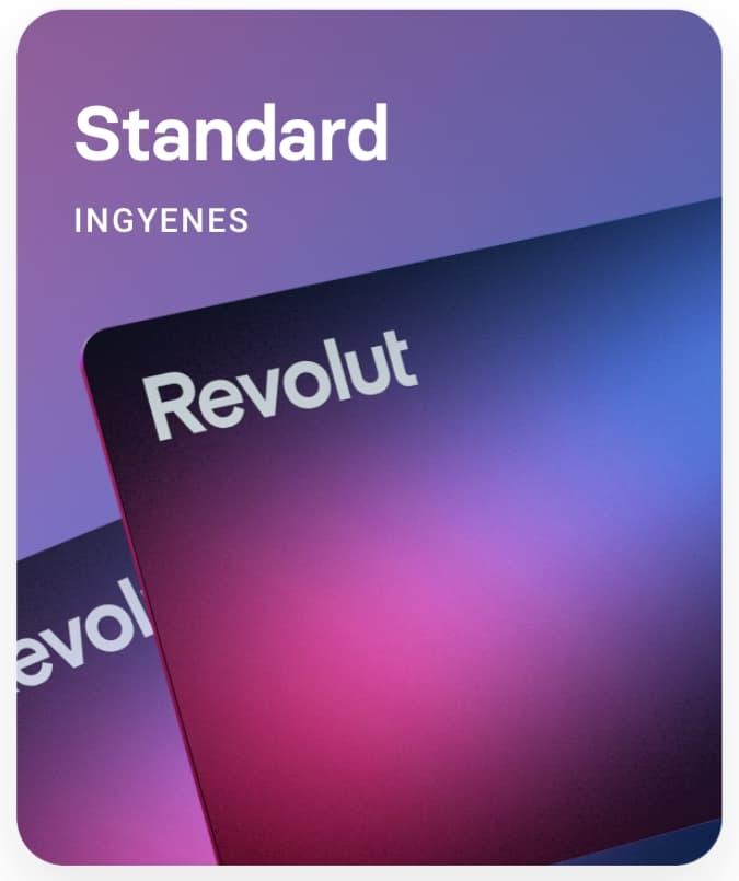 revolut standard csomag